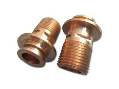 复杂铜零件