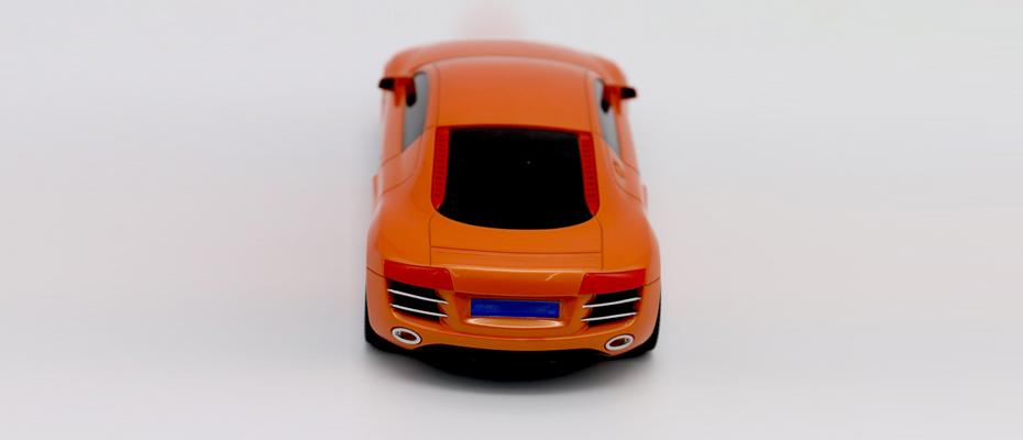 汽车CNC手板模型