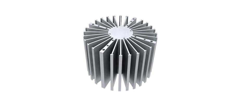 CNC电子散热器-长鸿精密