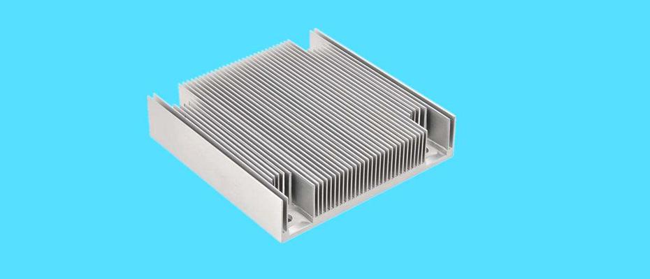 电子散热器CNC加工-长鸿精密